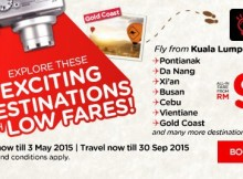 AirAsia Exciting Destinations Low Fares Promo