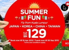 AirAsia Promotion Summer Fun 2015