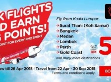airasia book flights earn big point promo