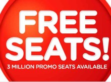 AirAsia 3 Million Free Seats deals