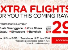 AirAsia Extra Flights Promotion