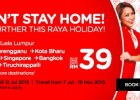 AirAsia Fly Further Raya Holiday Promo