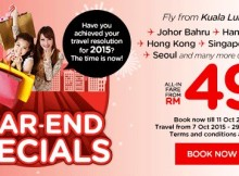 AirAsia Year End Special Promo