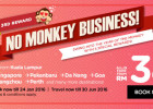 AirAsia 3 Week No Monkey Business Promotion