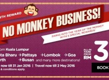 AirAsia 4th No Monkey Business Promo