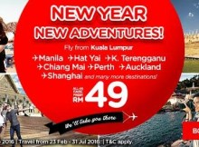 AirAsia New Year New Adventures Promotion