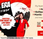 AirAsia Dawn Of An Era Promo 2016