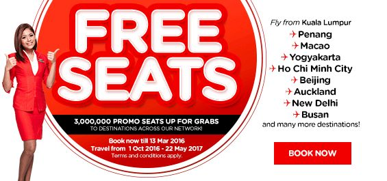 The offer is valid on Air Asia tickets made through Yatra. Seats are subject to availability. This offer cannot be clubbed with any other promotion on Yatra. Discounts provided under the offer cannot be clubbed with any other offer or discount extended by Yatra as part of any other arrangement.