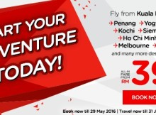 AirAsia Start Your Adventure Sale