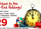 AirAsia Countdown Year End Holidays Promo