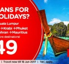 AirAsia Plans For Holidays Promo