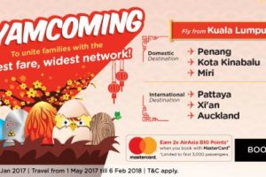AirAsia Ayam Coming Promo