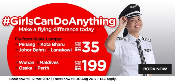 AirAsia Women Day Promo