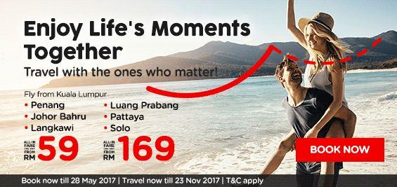 AirAsia Enjoy Life Moment Promotion