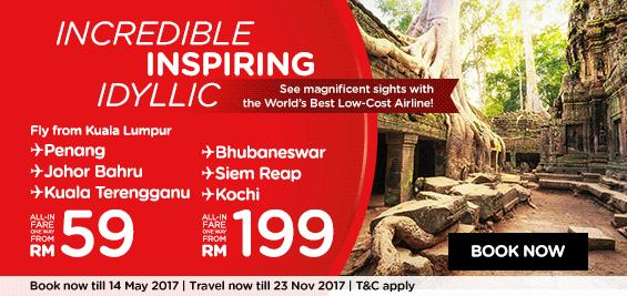 AirAsia Incredible Inspiring Promo