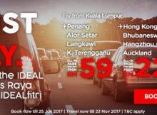 AirAsia Just Fly This Raya Promo 2017