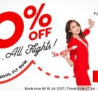 AirAsia 20 Percent All Flights Promotion