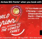 AirAsia Base Fare Promotion From RM9
