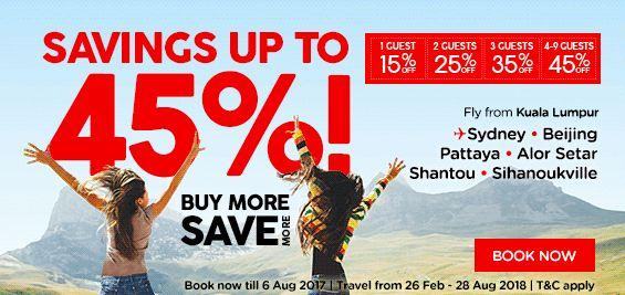 AirAsia Buy More Save More Promo